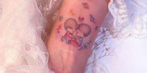 Hermanitos por Alynana Tattoos