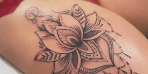Flor de loto por Steve Savard, Chik Tattoo