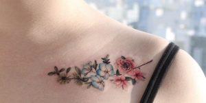 Ramillete de Flores por Tattooist Greem